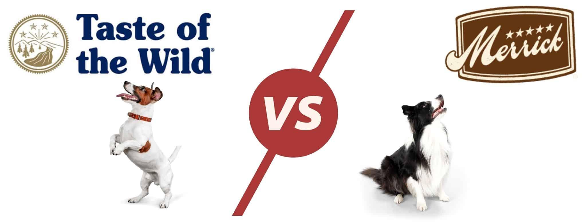 taste of the wild vs merrick