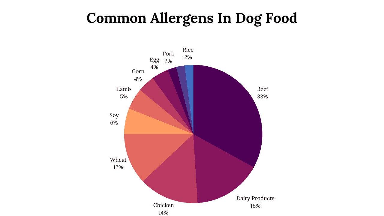 most common allergens in dog food