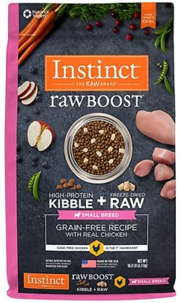 Instinct dog food for chihuahuas